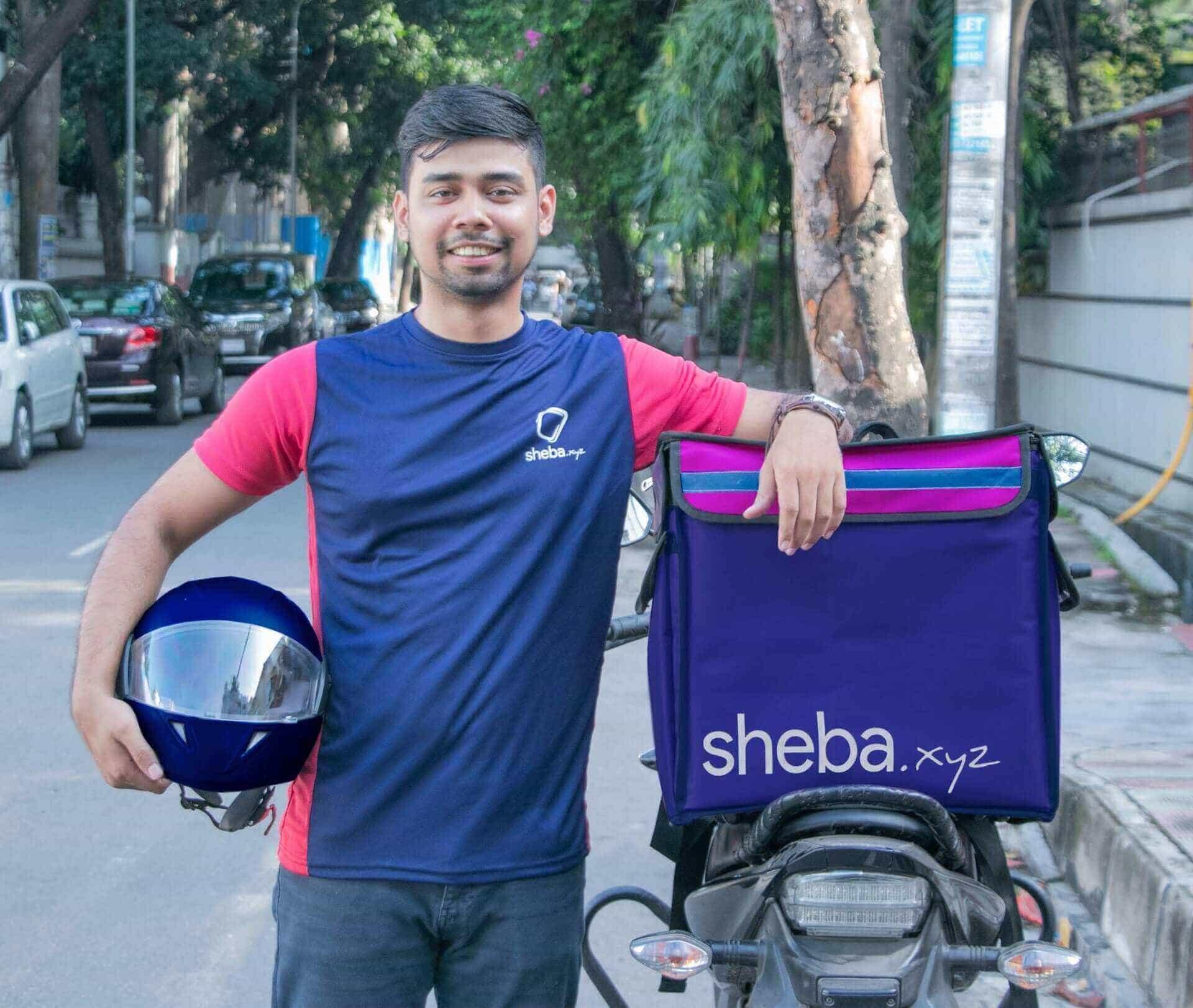 Sheba Delivery Rider Image